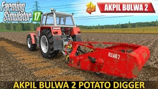 Farming Simulator 17 AKPIL BULWA 2 Potato Digger