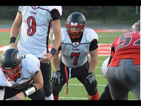 9/8/2017 - Bryce Allen Wilson - Junior Fullback - vs Clark County, MO Highlights - Class of 2019