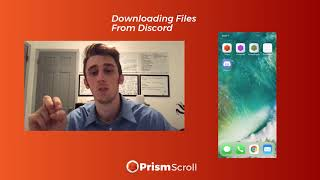 Gambar cover PrismScroll - How to Download Files From Discord