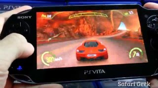 PS Vita: Asphalt Injection Gameplay (Português/BR)