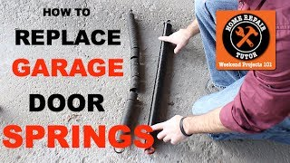 How to Replace a Garage Door Extension Spring -- by Home Repair Tutor