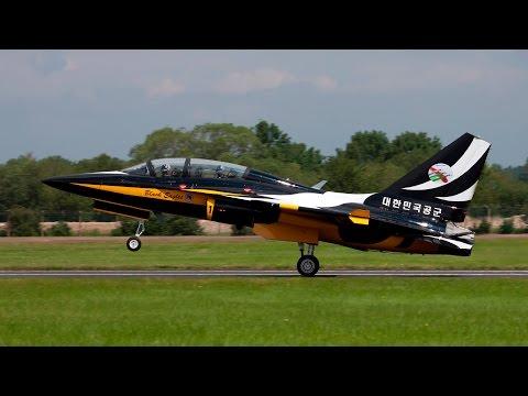 Royal International Air Tattoo Includes Korean Black Eagles - Airshow World