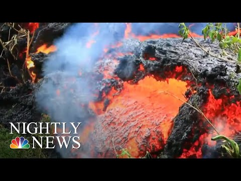 Officials Warn Largest Hawaii Volcano Eruption Is 'Imminent' | NBC Nightly News