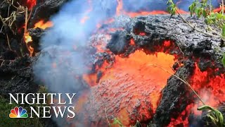 When the lava lake inside Kilauea drops, a catastrophic explosion c...