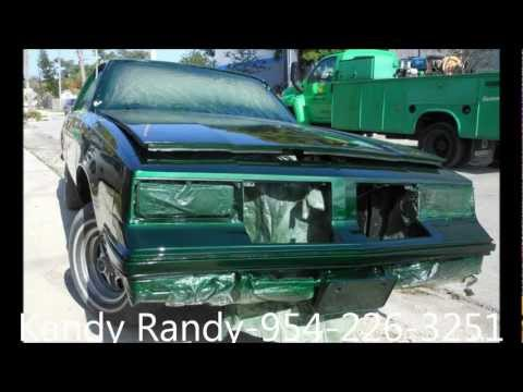 AceWhips.NET- KANDY RANDY- Organic Green Oldsmobile Cutlass Fresh Out the Booth