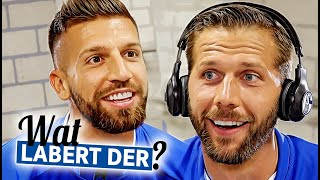 What's he saying? | Matija Nastasic | Guido Burgstaller | FC Schalke 04