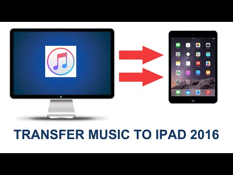 How to Transfer Music from computer to iPad