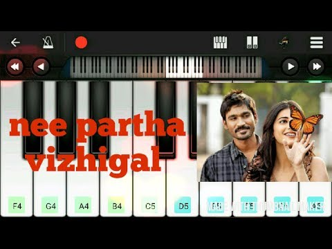 NEE PARTHA VIZHIGAL KEYBOARD-NOTES IN THE DESCRIPTION