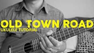 Old Town Road - Lil Nas X (EASY Ukulele Tutorial) - Chords - How To Play