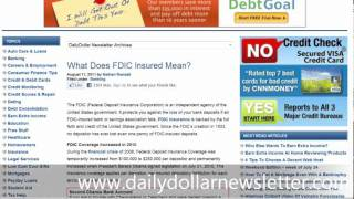 what does fdic insured mean