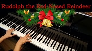 Rudolph the Red-Nosed Reindeer, Johnny Marks (Late-Intermediate Piano Solo)
