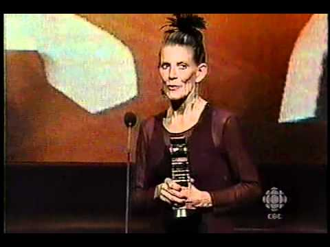 2001 (16th) Gemini Awards - Earle Grey Award Presentation to Jackie Burroughs