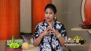 Neengalum Samaikalam 08-05-2017 – Jaya Tv cookery Program – Kathirikai Uppu Curry & Thalassery Kozhi Curry
