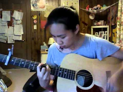 Shiver Coldplay acoustic cover