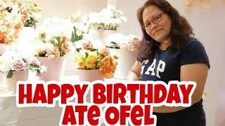 Happy birthday ate Ofel