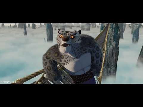 Kung Fu Panda Hindi (2008) - Furious Five Vs Tai Lung