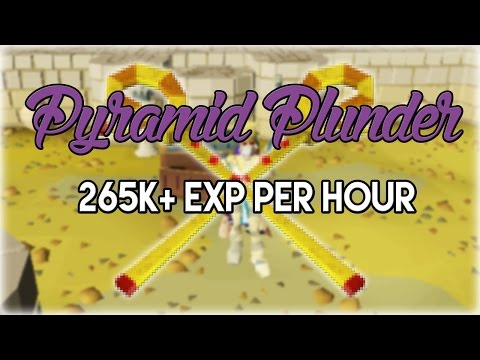 Efficient Pyramid Plunder Guide 265k+/Hr | Oldschool 2007 Runescape