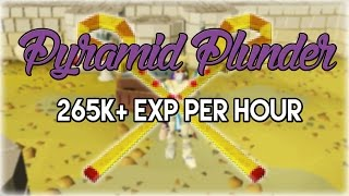 Efficient Pyramid Plunder Guide 265k+/Hr | Oldschool 2007 Runescape
