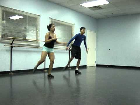 Brother/Sister Tap Duet