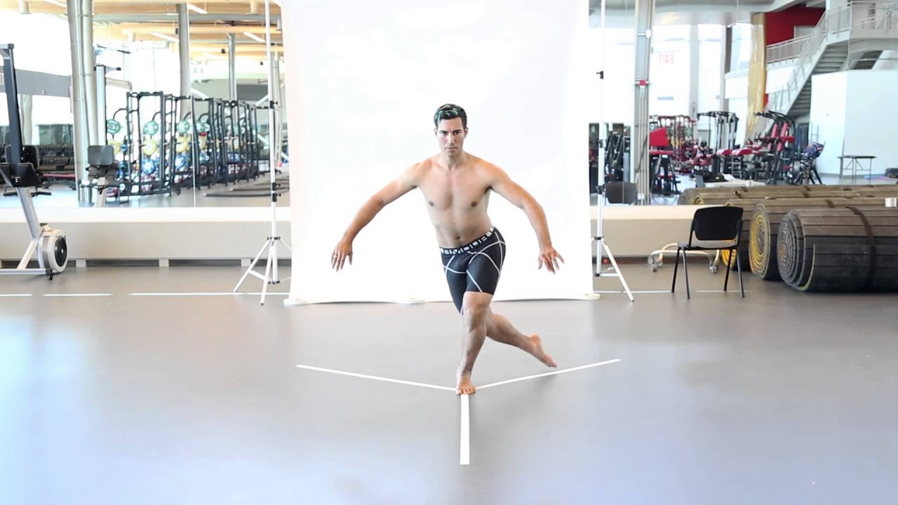 CSICalgary SkateCanada MSKAssessment Y balance lower - YouTube