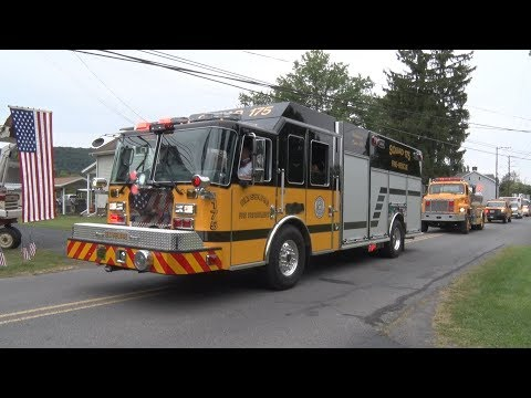 Elysburg,PA Fire Department Squad 175 Parade & Housing 9/2/17
