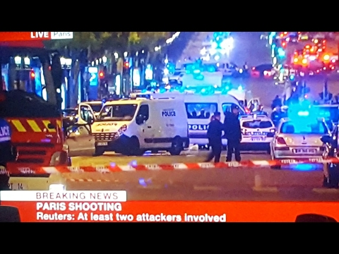 Paris Terroist Attack 2 Police Dead One Terroist Dead! Breaking News isis claims responsibility.