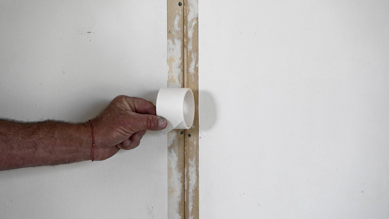 Joints In Drywall Or Plasterboard Walls