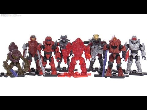 Mega Construx Halo Warrior Series full review! All 8 figures