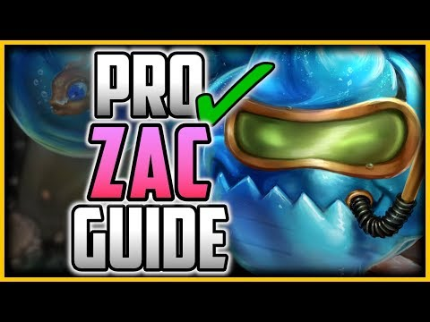 HOW TO PLAY ZAC LIKE A PRO IN 17 MINUTES - ZAC Jungle Commentary Guide - League Of Legends