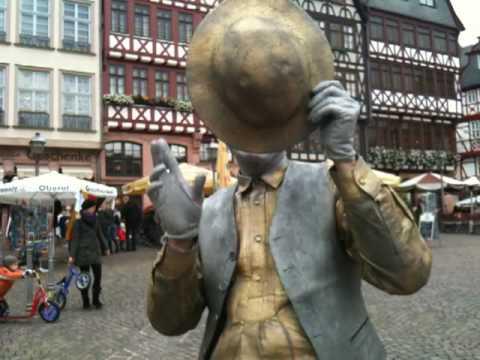 a real poser in Frankfurt