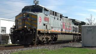 [4K] Railfanning Victoria, TX 11-26-16 Feat KCS Gray Ghost SD70ACe
