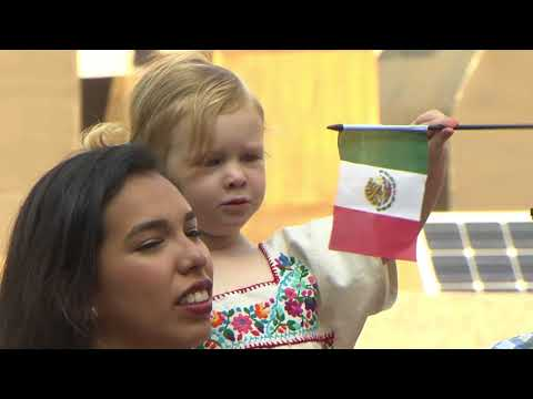 Mexican Independence Day Flag Raising - Promo