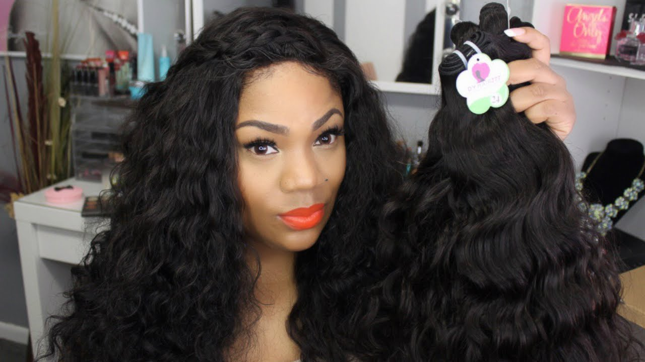 Affordable Virgin Hair Cambodian Natural Wave Unboxing Dyhair777 You