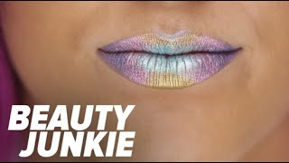 Oil-Slick Lips Will Be Your New Beauty Obsession