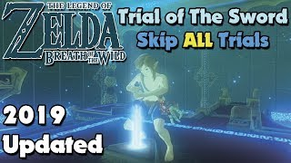 Trial of The Sword SKIP in Breath of The Wild (Updated 2021 Tutorial)