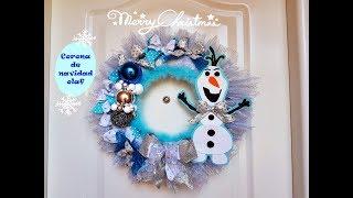 GUIRNALDA DE OLAF😉 NAVIDAD / Christmas wreath