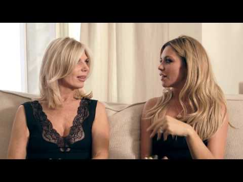 AVON Cosmetics - Abbey Clancy and her Mum Introducing AVON's new perfume for Mother's Day - Cherish