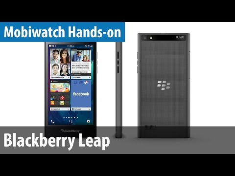Blackberry Leap im Mobiwatch-Hands-on | deutsch / german