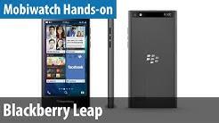 Blackberry Leap im Mobiwatch-Hands-on | deutsch / german