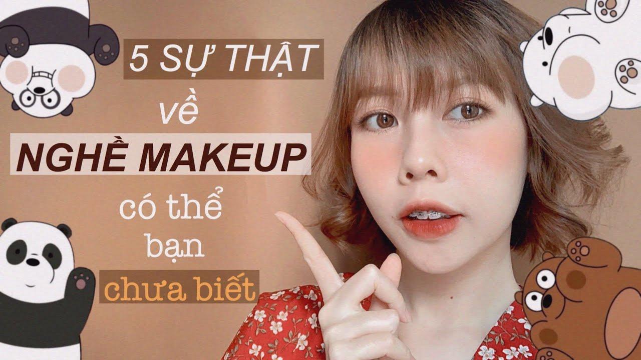 MAKEUP KỶ YẾU ĐƠN GIẢN – CÓ NÊN CHỌN NGHỀ MAKEUP? 🍑 Ny Nguyễn