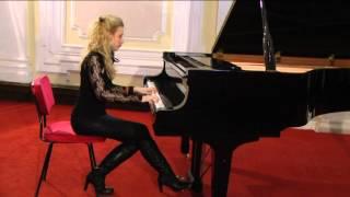 Mina Mijovic-Liszt/Paganini: Etude no. 6 in a minor