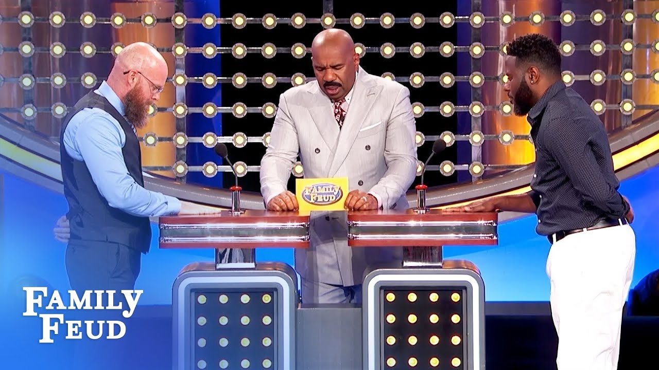 My hair is migrating from my head to my...   Family Feud