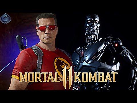 Mortal Kombat 11 Online - AWESOME TERMINATOR COMBOS!