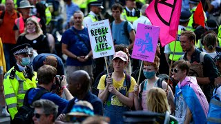 video: Extinction Rebellion demo left 120 tons of rubbish on London's streets, say council chiefs