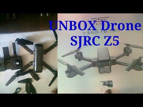 Unboxing Drone SJRC Z5 2,4 Ghz GPS