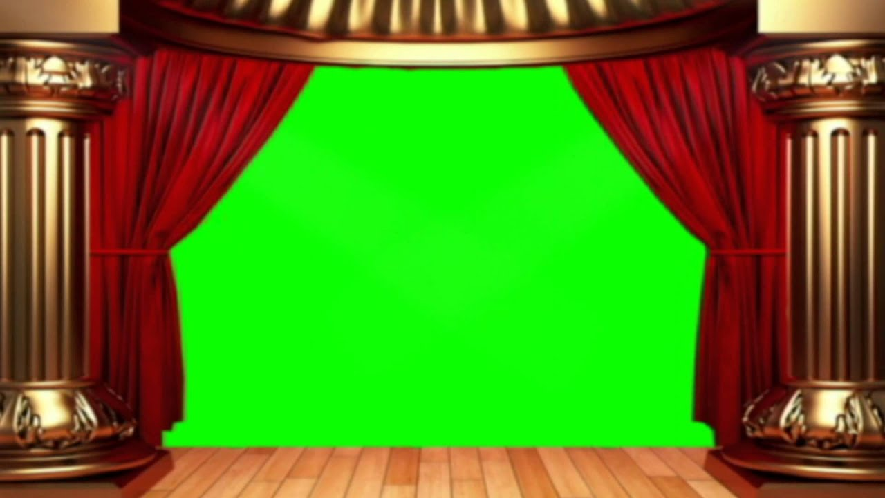 Green Screen Stage Virtual Lights stock footage HD  YouTube