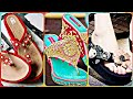 Beautiful Ladies Flat Sandals Collection 2019 || Daily Wear Sandal Design collection Images
