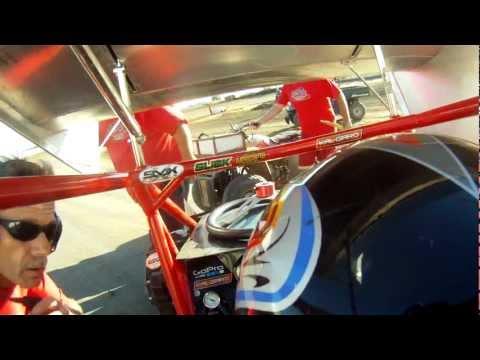 GoPro Dixon Speedway 600 Micro Sprint Crash