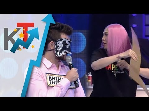 Vice Ganda nanggigil nang biglang nagsalita ng tagalog si Anime Be This Time