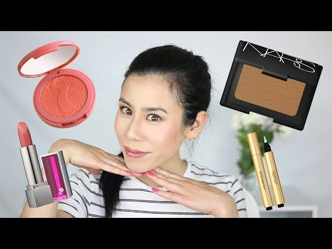 FULL FACE WITH ONLY MAKEUP SAMPLES! ~ Fables in Fashion